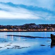 Bangor panoramic city skyline