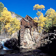Crystal Mill, Crystal River, Elk Mountains, Colorado