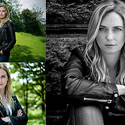 Portraits of actress, Jamie Lee McPherson.