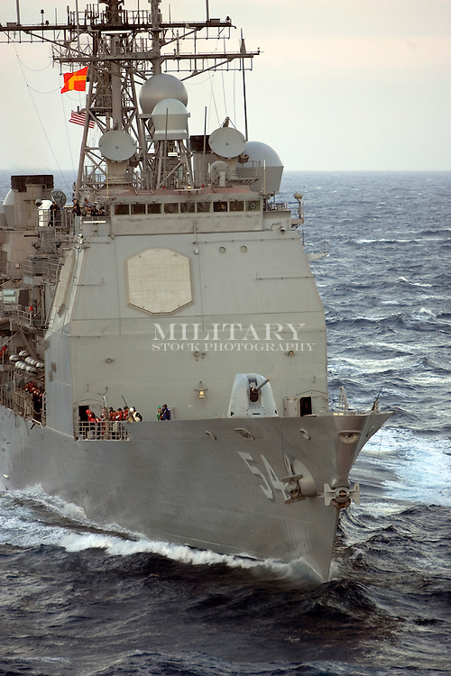 US Navy UNREP (Underway Replenishment) operations in the Pacific; SURFPAC ships come alongside USNS Pecos for fuel transfer.  ..CAUTION: this image is protected by a registered copyright and is protected under the provisions of the US Copyright Act as ammended, Title 18 US Code.  Infringements may be subject to civil and criminal prosecution with fines up to $150,000 per infringement, plus court costs.  Do not reproduce without WRITTEN license from the copyright holder or his designated agent. CONTACT Hans Halberstadt (hans@militaryphoto.com) (408) 293-8131, or StockPhoto.US (sales@stockphoto.us) (916) 624-4663 for reproduction authority.