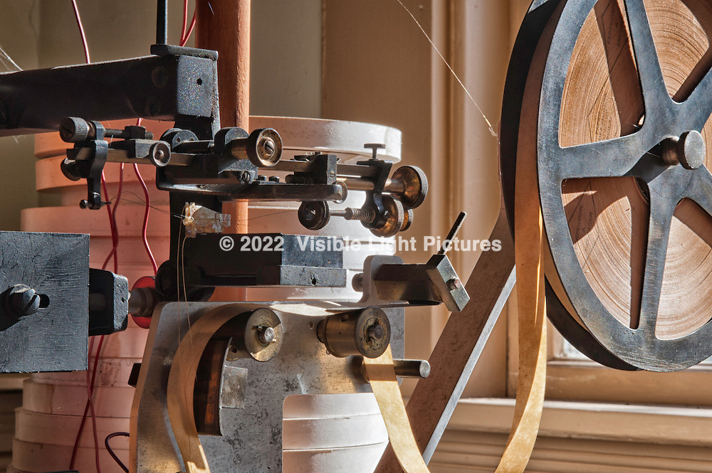 Punch paper tape feeder.