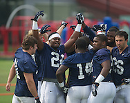 Ole Miss football practice in Oxford, Miss. on Saturday, August 3, 2013.