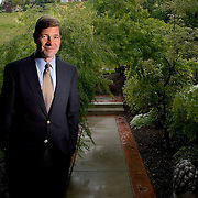 Dr. Sean Mulvihill at his home in Salt Lake City, Tuesday, June 7, 2005.  August Miller/ Deseret Morning News