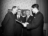 1966 Presentation of Hardware Allied Traders window display awards