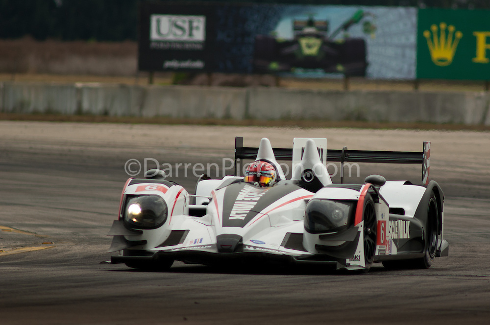 #6 Muscle Milk Pickett Racing HPD ARX-03a: Lucas Luhr, Klaus Graf, Simon Pagenaud
