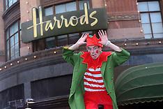 NOV 02 2013 Harrods Christmas Parade