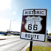 ..Driving the Illinois and Missouri road of Route 66.