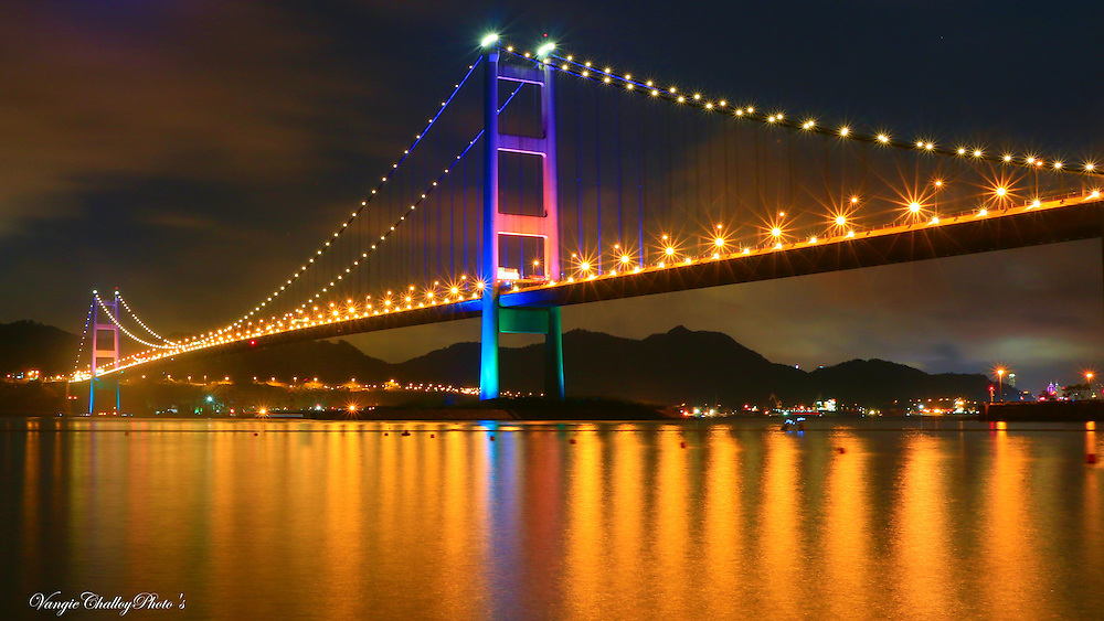 The Tsing Ma Bridge by Vangeline Challoy<br />
