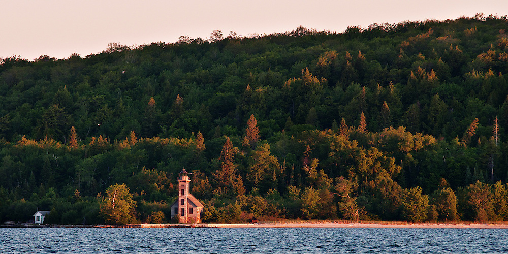 Grand Island East Channel Lighthouse <br /> Michigan's Upper Peninsula