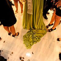 Miss Panama 2010. Miss ¨Sen?orita Panama¨ beauty pageant  at the Sheraton Hotel. Panama.