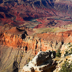 View from Lipan Point on Grand Canyon South Rim.