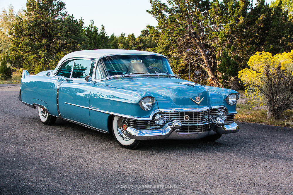 1954 Cadillac Coupe de Ville, 2012 Santa Fe Concorso High Mountain Tour.