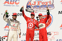 Scott Dixon, Ryan Briscoe, Dario Franchitti, Indy Car Series
