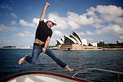 Jon Bon Jovi -- Sydney Harbour, Sydney, Australia