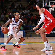 Delaware 87ers Guard SEAN KILPATRICK (14) dribbles down the floor in the second half of a NBA D-league regular season basketball game between the Delaware 87ers and the Maine Red Claws  Friday, Feb. 05, 2016 at The Bob Carpenter Sports Convocation Center in Newark, DEL.