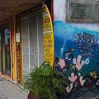 Central America, Nicaragua, San Juan del Sur. Surf shop in San Juan del Sur.