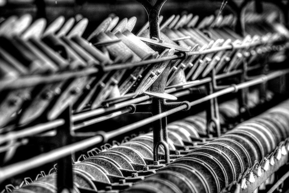 Lonaconing Silk Mill silk machine
