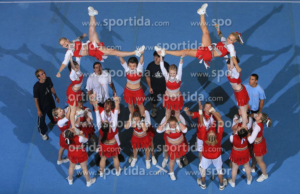 Smart, Slovenia during Mixed senior at second day of European Cheerleading Championship 2008, on July 6, 2008, in Arena Tivoli, Ljubljana, Slovenia. (Photo by Vid Ponikvar / Sportal Images).