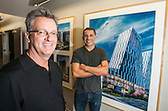Mike Ellis and Ramon Hone of 5+design architectural firm