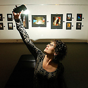Photo by Gary Cosby Jr.  Photographer Carla Swinney has work featured in an exhibition at Calhoun Community College.