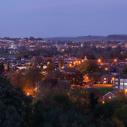 Salisbury panoramic city skyline