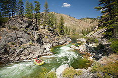 Middle Fork of the Salmon River rafting photos- Idaho rafting stock photography - Whitewater Rafting