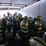 Army about to take the field for the 111th meeting between Army and Navy at Lincoln Financial Field in Philadelphia Pennsylvania