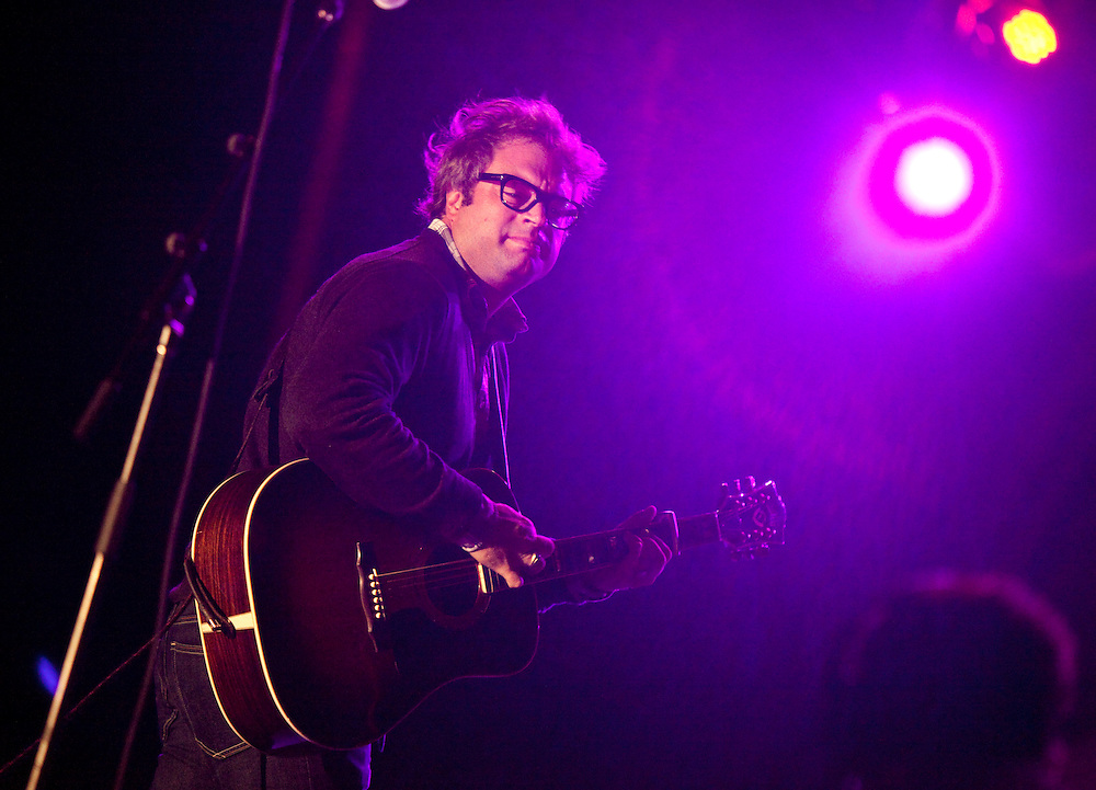 London, Ontario ---11-09-07---  Canadian singer Steven Page was one of the headliners during frosh week concert at the University of Western Ontario, in London, Ontario, September 7, 2011. The event also focused on social issues for students including sexuality, gender equality and Page spoke about some of his mental health struggles.<br /> GEOFF ROBINS The Globe and Mail