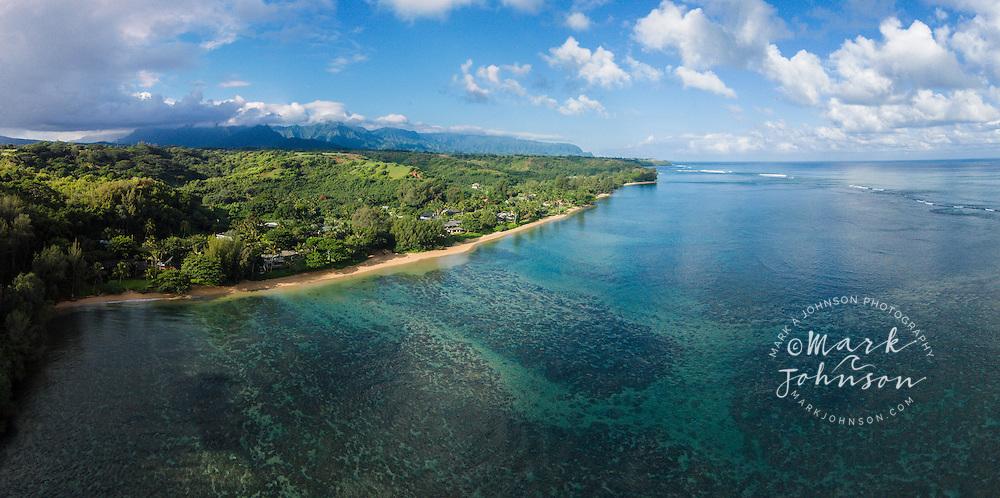 Anini Beach, Kauai, Hawaii, USA