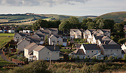 Lauder town suburbs, Scottish Borders, Scotland