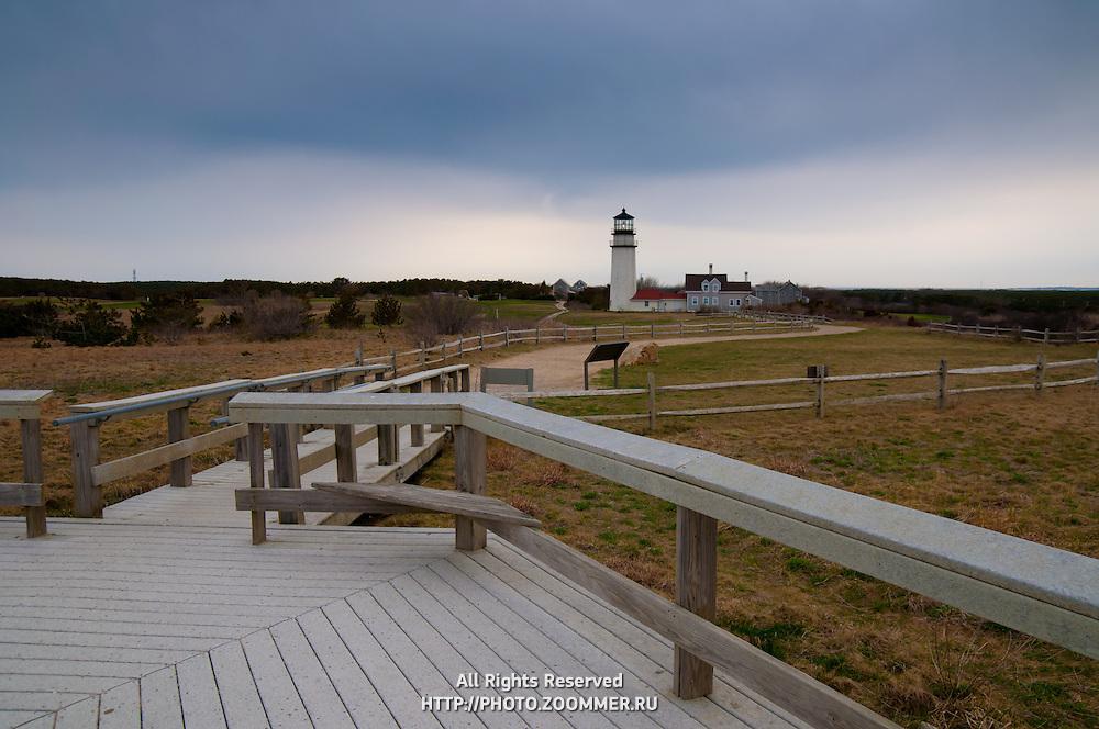 Boardwalk To Highland Light In Truro, Cape Cod | Travel ...