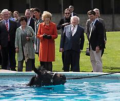 APR 10 2014 Irish President visits  Park House stables