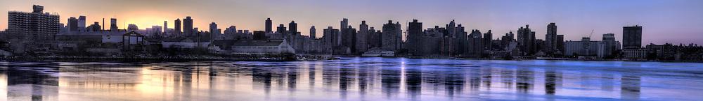 Astoria & New York City panoramic.