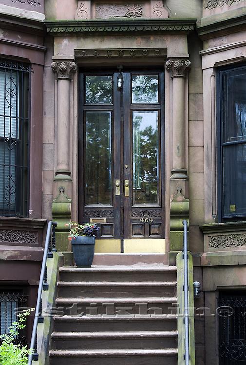 Steps to the door