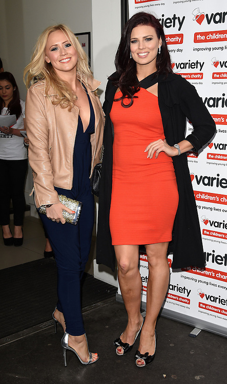 Amy Walsh and guest  attend  Shooting Stars Book Launch Party at The London Film Museum, Covent Gardens, London on Tuesday 19 May 2015