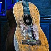 Willie Nelson's guitar, Trigger at the Heartbreaker Banquet, SXSW 2014, Austin, Texas, March 13, 2014.