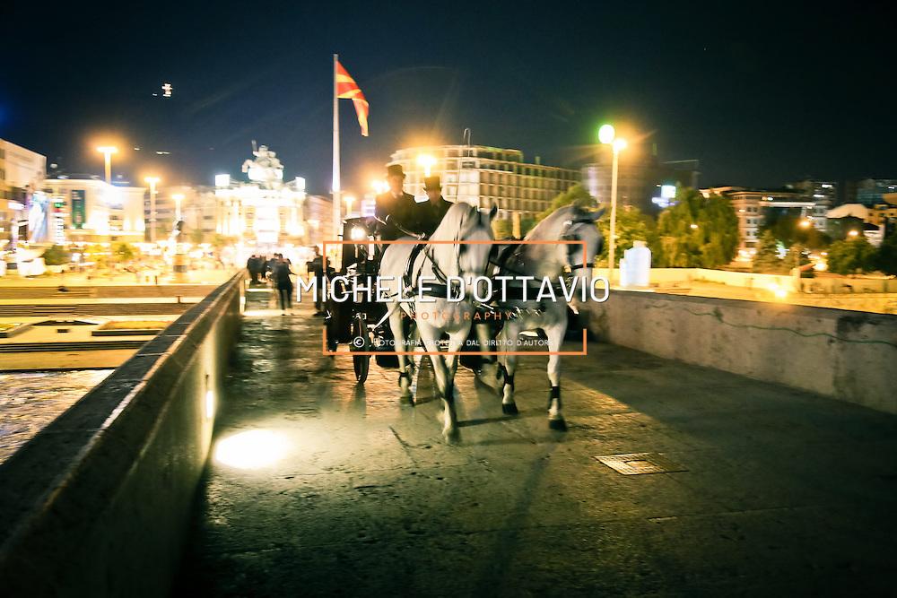 Midnight in Skopje. Negli ultimi tre anni, il turismo a Skopje è aumentato del 54 per cento