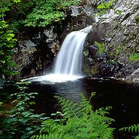 Waterfall near Glenfinnan, Scotland