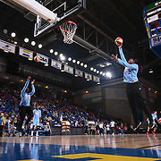 Chicago Sky Forward CHEYENNE PARKER (32), RIGHT,  takes a shot during warm ups prior to a WNBA preseason basketball game between the Chicago Sky and the New York Liberty Sunday, May. 01, 2016 at The Bob Carpenter Sports Convocation Center in Newark, DEL