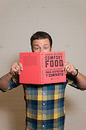 Jamie Oliver photographed in his TV studio in North London.