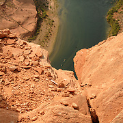 The Horseshoe Bend in the Colorado River just outside of Page, Az