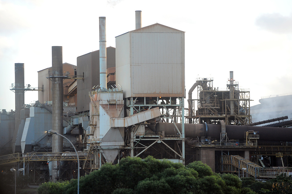 Nickel Smelter, Pacific Mission 2012, Noumea, New Caledonia, Thursday, July 26, 2012. Credit:SNPA / Ross Setford