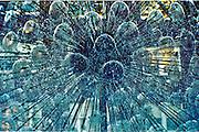 Dandelion water sculpture fountain, Sydney, Australia
