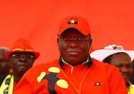 Manuel Vicente during the political campaign of MPLA party.