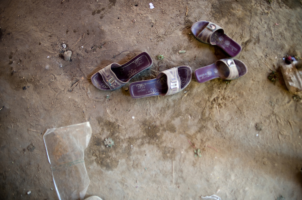 Rubina (not her real name) and her sister in law were raped over a house dispute.  Pakistan, 2011