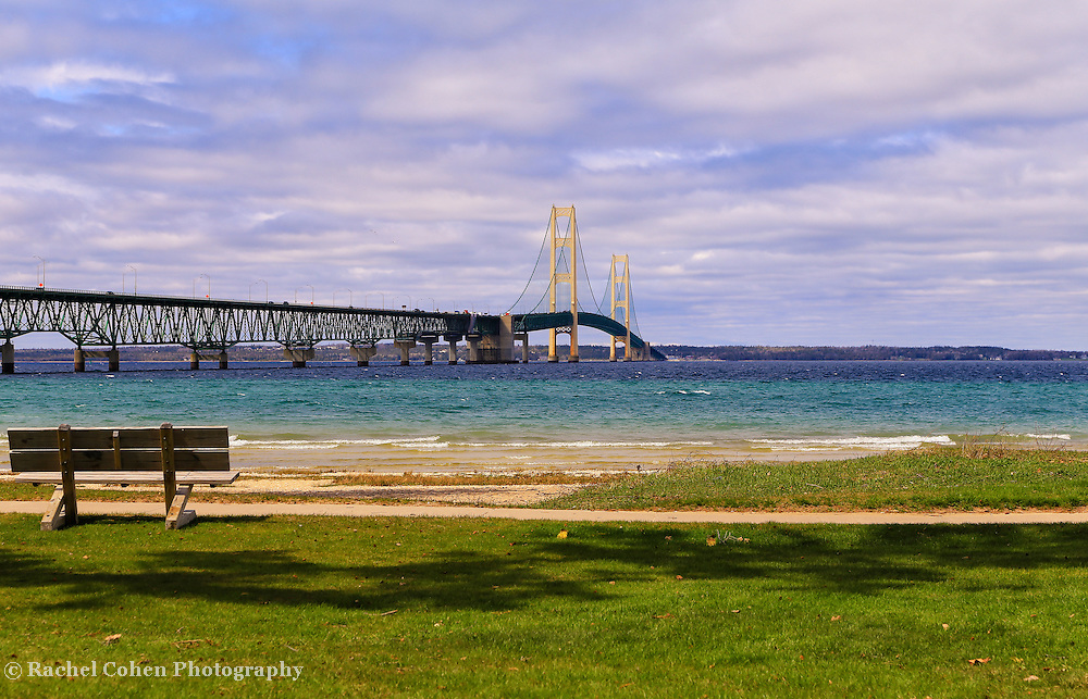 &quot;Viewing Mackinac Bridge&quot;<br />