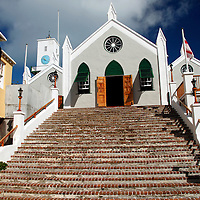 Bermuda, St. George's. St. Peter's Church.