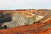 Newmont mining Boddington goldmine site visit for the African mining delegation, Murdoch University