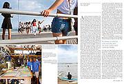 ADAC Reisenmagazin..Story: Rockaway, Queens, New York....