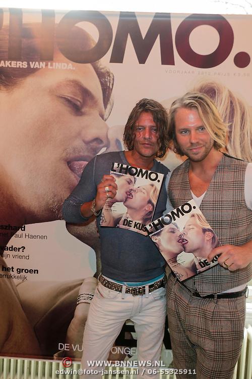 NLD/Amsterdam/20120424 - Presentatie L' Homo, Tygo Gernandt en Thijs Romer
